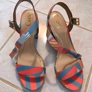 CIRCUS BY SAM EDELMAN BLOCK HEEL